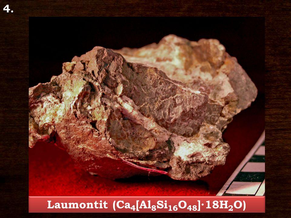 Laumontit (Ca4[Al8Si16O48]∙18H2O)